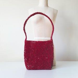 The Sak by Elliott Lucca Beaded Vintage Bag